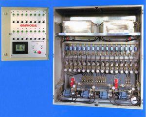 Multi-Zone Lubrication Control Centre